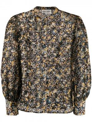 Блузка с вырезными деталями Antik Batik. Цвет: черный