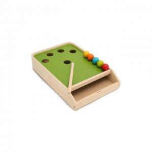 Настольная игра Бильярд Plan Toys. Цвет: разноцветный