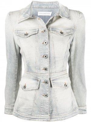 Короткая джинсовая куртка Faith Connexion. Цвет: синий