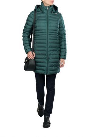 Куртка Geox. Цвет: зеленый