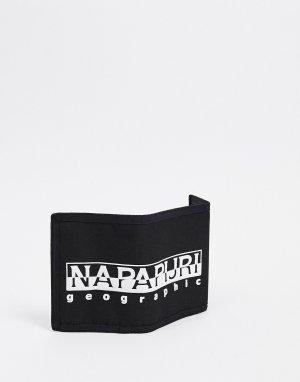 Черный бумажник Happy Napapijri