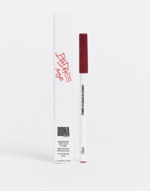 Матовый карандаш для губ UOMA