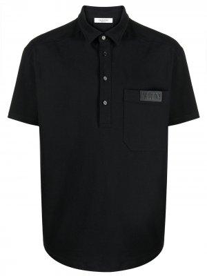 VTLN short-sleeve polo shirt Valentino. Цвет: черный