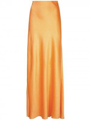 Пышная юбка макси Rosetta Getty. Цвет: оранжевый