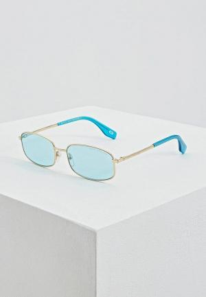 Очки солнцезащитные Marc Jacobs 368/S MVU. Цвет: голубой