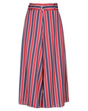 Повседневные брюки DEBY DEBO. Цвет: синий