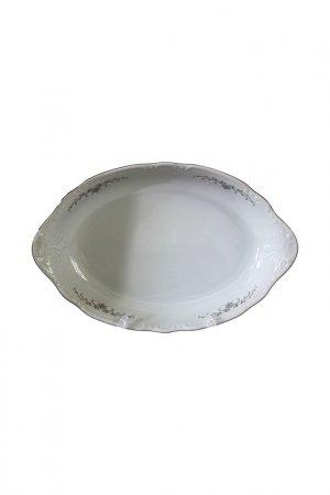 Блюдо для хлеба 34 см Thun1794. Цвет: белый