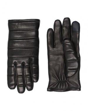 Перчатки MICHAEL KORS. Цвет: черный