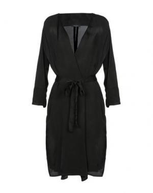 Легкое пальто ROBERTO COLLINA. Цвет: черный
