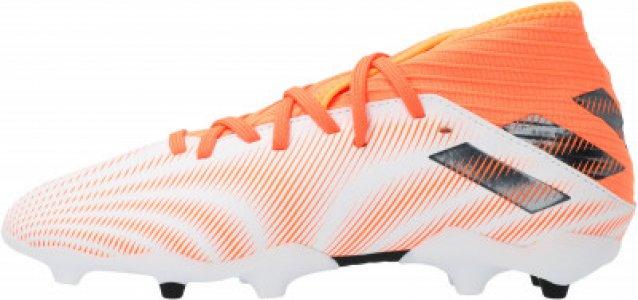 Бутсы для мальчиков adidas Nemeziz .3 FG J, размер 36.5. Цвет: черный