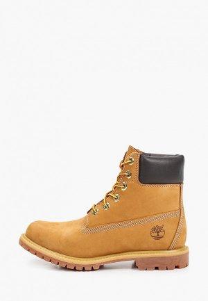 Тимберленды Timberland 6in Premium Boot. Цвет: коричневый
