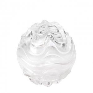 Шкатулка Vibration Lalique. Цвет: прозрачный