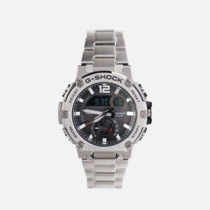 Наручные часы G-SHOCK GST-B300E-5AER G-STEEL CASIO. Цвет: серебряный