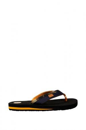Шлепанцы пляжные Gioseppo. Цвет: синий