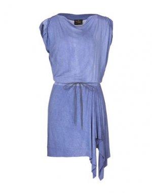 Короткое платье VIVIENNE WESTWOOD ANGLOMANIA. Цвет: сиреневый