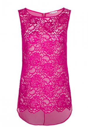 Блуза FLAVIO CASTELLANI. Цвет: розовый