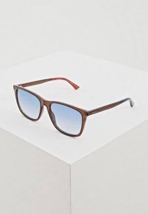 Очки солнцезащитные Gucci GG0404S011. Цвет: черный