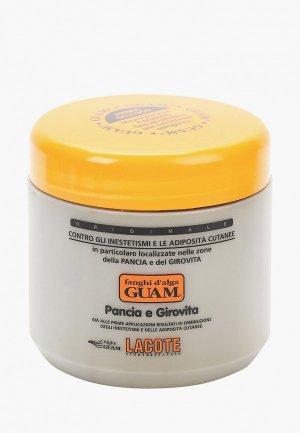 Маска для тела Guam антицеллюлитная, FANGHI D ALGA, 500 гр. Цвет: белый