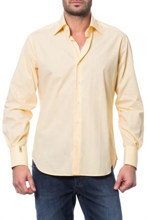 Рубашка Billionaire. Цвет: бежевый
