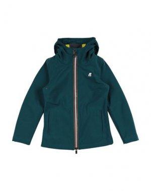 Куртка K-WAY. Цвет: цвет морской волны
