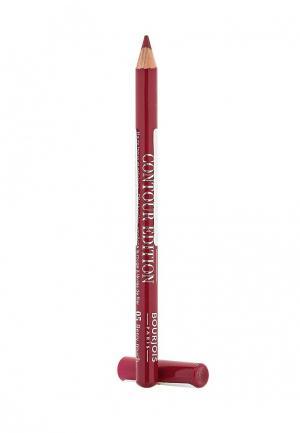 Карандаш для губ Bourjois Levres Contour Edition, 5 Berry Much, 1 гр. Цвет: красный