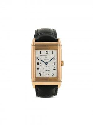 Наручные часы Reverso Grande Taille pre-owned 29 мм 2010-го года Jaeger-LeCoultre. Цвет: серебристый