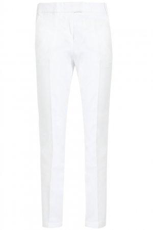 Хлопковые брюки Kaufmanfranco. Цвет: белый