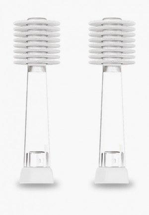 Комплект насадок для зубной щетки Mega Ten Dorothy/LUMI сменнных  LUMI/DOROTHY. Цвет: прозрачный