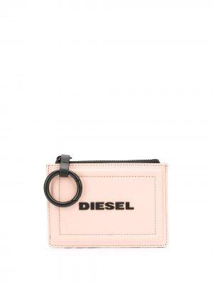 Двухцветная ключница Diesel. Цвет: серый