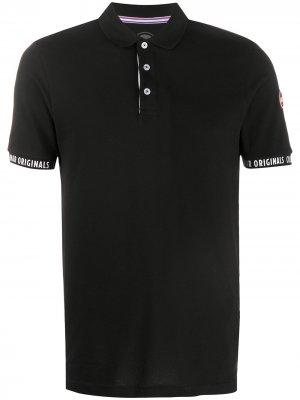 Рубашка поло с короткими рукавами Colmar. Цвет: черный