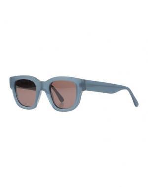 Солнечные очки ACNE STUDIOS. Цвет: цвет морской волны