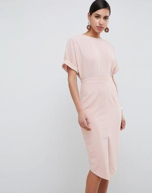 Платье миди ASOS DESIGN