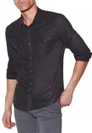 Рубашка JOHN VARVATOS. Цвет: черный