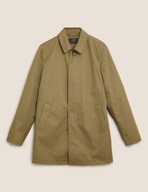 Макинтош с технологией Stormwear™ M&S Collection. Цвет: природный камень