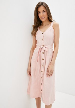 Платье Befree. Цвет: розовый