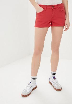Шорты джинсовые Roxy. Цвет: розовый