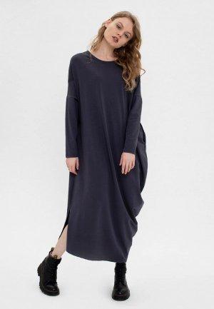 Платье Bornsoon. Цвет: серый