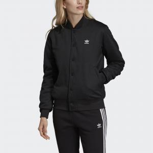 Куртка-бомбер Styling Complements Originals adidas. Цвет: черный
