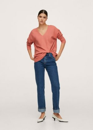 Пуловер из трикотажа - Canadav Mango. Цвет: фуксия