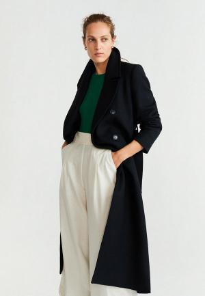 Пальто Mango - MAKI. Цвет: черный