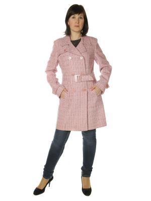 Пальто AURORA. Цвет: сиреневый