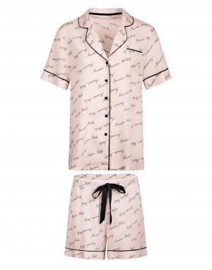 Комплект рубашка с короткими рукавами и шорты Francesca Incanto
