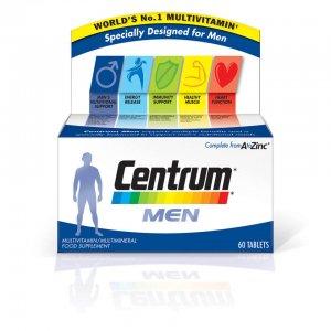 Мужские поливитамины Men Multivitamin Tablets - (60 таблеток) Centrum