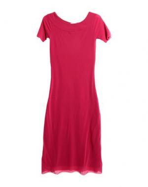 Длинное платье FUZZI. Цвет: пурпурный
