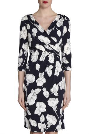 Платье Gina Bacconi. Цвет: navy