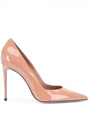 Туфли-лодочки на шпильке с заостренным носком Le Silla. Цвет: нейтральные цвета