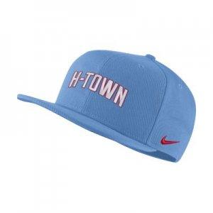 Бейсболка НБА Pro Houston Rockets City Edition - Синий Nike