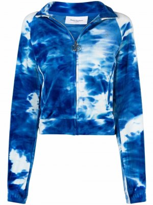 Худи с логотипом Juicy Couture. Цвет: синий