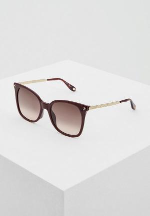 Очки солнцезащитные Givenchy GV 7097/S C9A. Цвет: бордовый