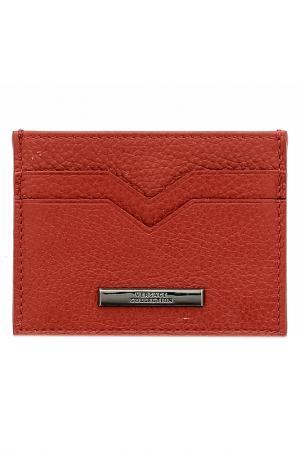 Визитница Versace Collection. Цвет: красный